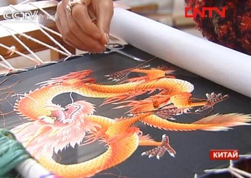 Вышивка китайская сучжоу